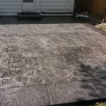 Color Stamped Concrete Patio - St. Louis Park, MN