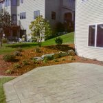 Color Stamped Concrete Patio - Chanhassen, MN