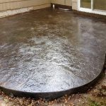 Color Stamped Concrete Patio - Edina, MN