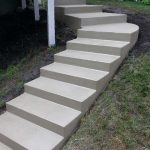 Curved Concrete Steps - Victoria, MN