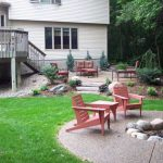 Exposed Aggregate Concrete Patio and Firepit - Victoria, MN