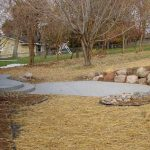 Exposed Aggregate Concrete Patio and Steps - St. Louis Park, MN