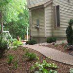 Exposed Aggregate Concrete Sidewalk - Minneapolis, MN