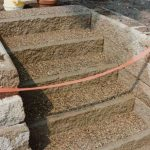 Exposed Aggregate Concrete Steps - Minneapolis, MN